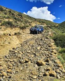 Lesotho, Allradfahrzeug