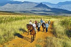 Reiten in Lesotho
