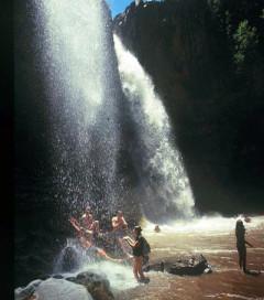 Lesotho, Botsoela Wasserfälle