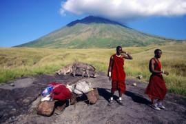 Tansania, Oldoninyio Lengai Berg