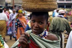 Menschen in Tansania