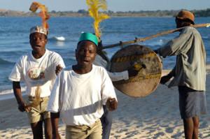 Freundliche Menschen in Malawi