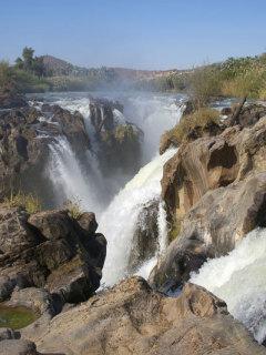 Die Epupafälle im Norden Namibias