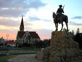 Das Reiterdenkmal in Windhoek